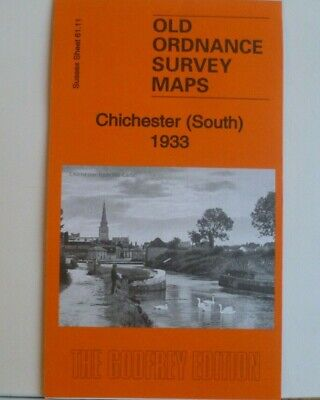 OLD ORDNANCE SURVEY MAPS CHICHESTER (South)  SUSSEX 1933 Sheet 61.11