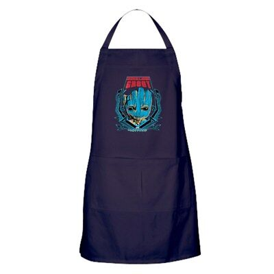 CafePress GOTG Groot Smile Kitchen Apron (27890236)