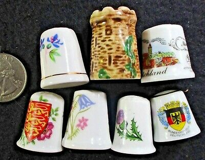 Lot  7 THIMBLES signed inside or outside ᵇ W2