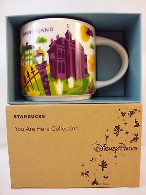 DISNEY Parks DISNEYLAND Starbucks NEW ORLEANS SQUARE Mug HAUNTED Mansion