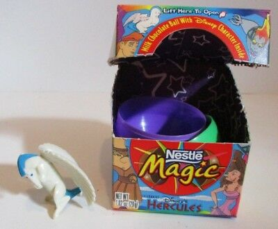 Vintage Disney Nestle Magic Candy Hercules Pegasus Toy Only Open No Chocolate