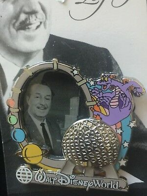 Disney WDW - Walt's Legacy Collection Figment Plans for Epcot Pin
