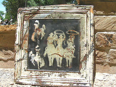 Antique Ceiling Tin, Old Wall Tile, western Art cc