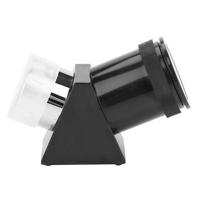 "1.25"" 45 Degree Angled Prism Zenith Mirror for Astronomical Telescope Eyepiece"