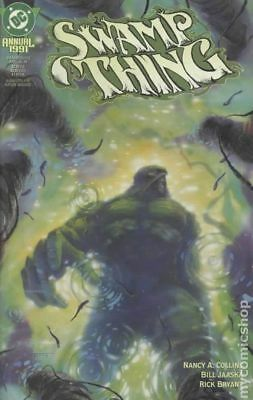 Swamp Thing (2nd Series) Annual #6 1991 VG/FN 5.0 Stock Image Low Grade