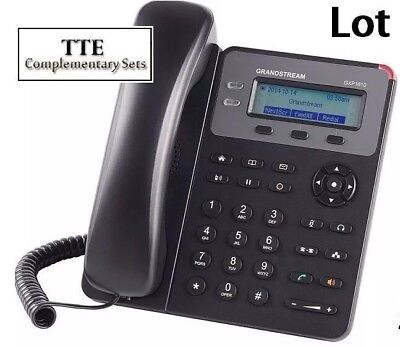 120-PACK New Grandstream GXP1610 2-Line HD - SIP IP Phone