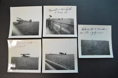 Vintage 1948 Photos Airplanes Taking Off Norristown Airport PA 913007