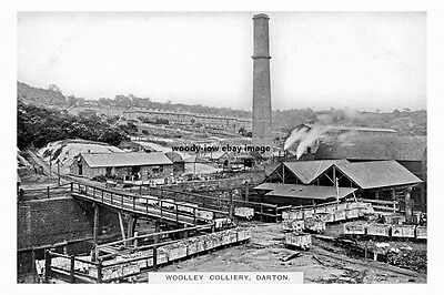 pt2066 - Darton Woolley Colliery , Yorkshire - photograph 6x4