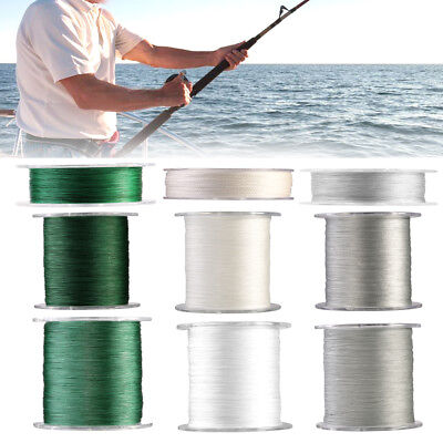 100m 300m 500m PE 4 Strands Braided Sea Fishing Line Rope Cord High Quality LY