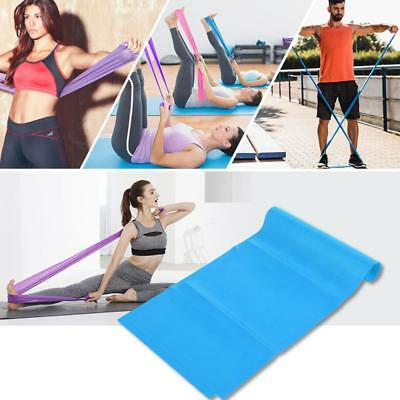 1.2/1.8M Elastic Resistance Loop Bands Yoga Exercise Gym Fitness Workout Stretch