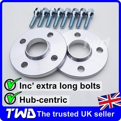 12Mm Alloy Wheel Spacers + Bolts For Mini R50 R52 R53 (4X100 Pcd 56.1Mm) -2G8H38