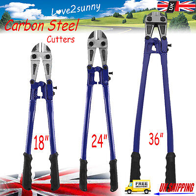 "UK 18"" 24"" 36"" Carbon Steel Wire Cable Bolt Lock Cutters Croppers Heat Treatment"