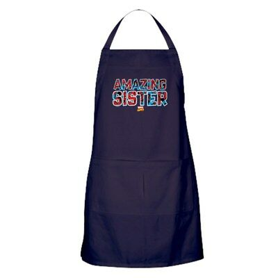 CafePress Spider Man Sister Kitchen Apron (219678550)