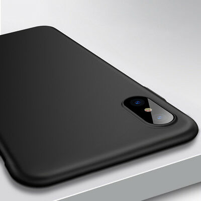 Coque Pour IPhone XS MAX XR XS Ultra Slim Hybrid Mat Etuis protection Case Cover