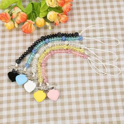 1Pc Infant Baby Toddler Pacifier Dummy Soother Holder Nipple Clip Strap Holder