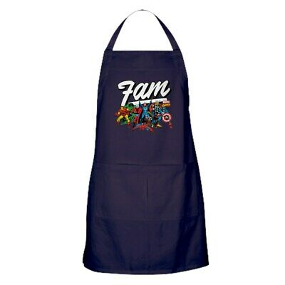 CafePress Marvel Comics Fam Kitchen Apron (219246362)