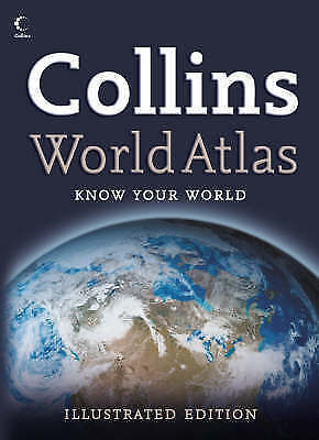 Collins World Atlas, Not Known, Paperback, Very Good Book