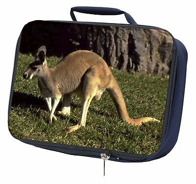 Kangaroo Navy Insulated School Lunch Box Bag, AK-2LBN