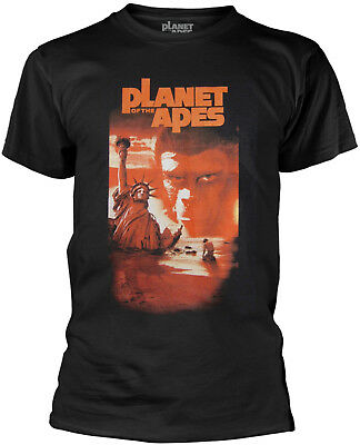 PLANET OF THE APES Statue Of Liberty BLACK T-SHIRT OFFICIAL MERCHANDISE