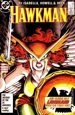 Hawkman (2nd Series) #6 1987 VG 4.0 Stock Image Low Grade