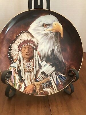 Franklin Mint Summoning Of The Eagle Spirit