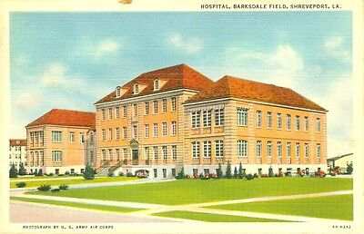 Shreveport,LA. The Barksdale Field Hospital 1941