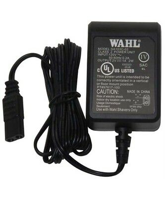 Genuine Wahl AC Adapter/Charger Power Cord for Wahl 5-Star Shaver/Shaper