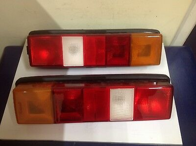 Pair Of Ford Transit Pickup & Tipper Rear Lamps