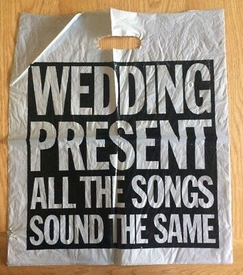 The Wedding Present All The Songs Sound The Same Promotional Plastic Bag (1990)