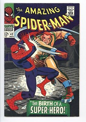 Amazing Spider-Man #42 Vol 1 Looks Near Perfect High Grade Mary Jane's Face Rev