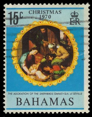 "BAHAMAS 312 (SG357) - Christmas ""Adoration of the Shepherds"" (pf84452)"
