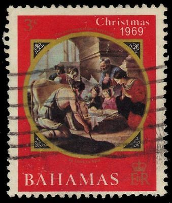 "BAHAMAS 294 (SG338) - Christmas ""Adoration of the Shepherds"" (pf89837)"