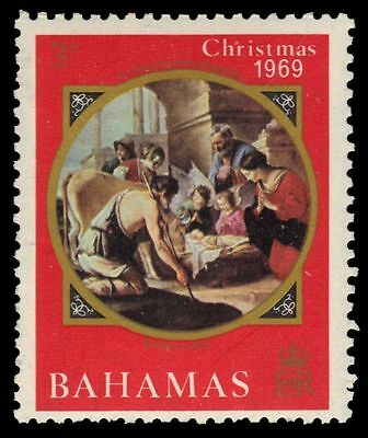 "BAHAMAS 294 (SG338) - Christmas ""Adoration of the Shepherds"" (pf84467)"