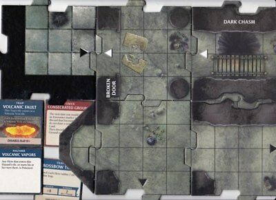 Interlocking Dungeon Tiles Mix > Exit to Underdark - Large Hall / Unterreich