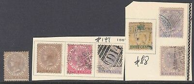 Straits Settlements Collection Lot $229 Scv First Issues Mounted