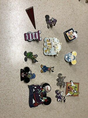 Disney Trading Pins 67 Lot No Doubles Hidden Mickey Limited Edition Free Ship