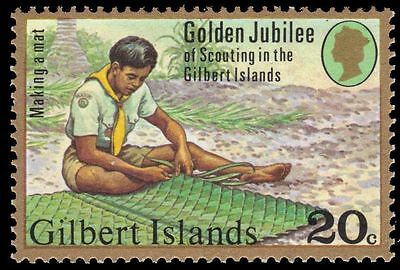 GILBERT ISLANDS 306 (SG62) - National Scout Movement 50th Anniversary (pa88622)