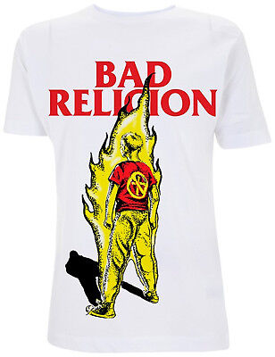 BAD RELIGION Suffer Boy On Fire T-SHIRT OFFICIAL MERCHANDISE