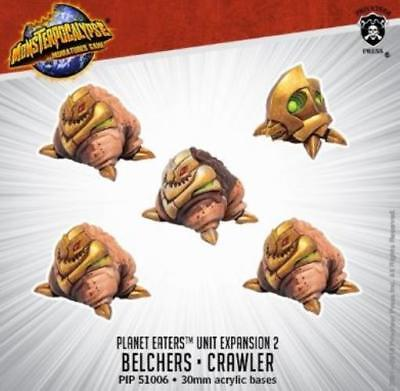 Privateer Monsterpocalypse Planet Eaters - Belchers & Crawlers Unit Pack MINT