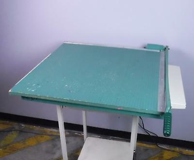 "Paper Cutter Guillotine 30"" x 30"" Wood Paper Trimmer"