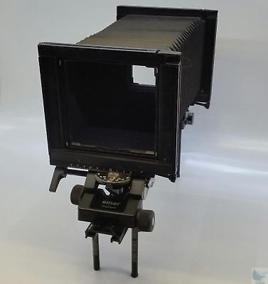 """Sinar 4x5 Large Format Camera Bellow w/ Monorail & Spare Parts """"Swiss Made"""""""