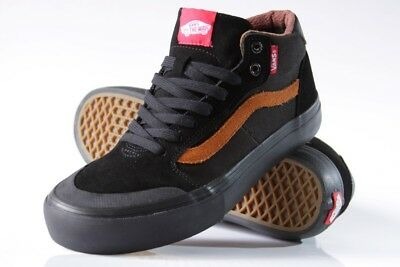 7b9276e93ee68 VANS STYLE 112 Mid Pro Dakota Roche Black/Ginger Men's Skate Shoes Size 6.5