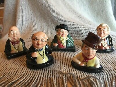 Set  (5) Royal Doulton Figurines, Dickens, Mr. Pickwick