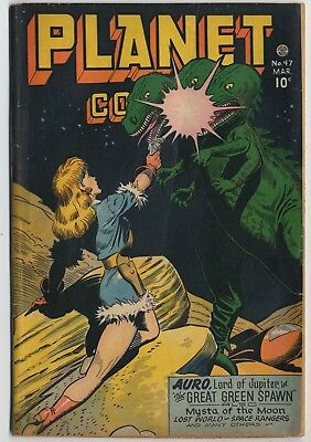 Fiction House PLANET COMICS #47, Doolin Cover, Lily Renee, Anderson Art VG- 1947