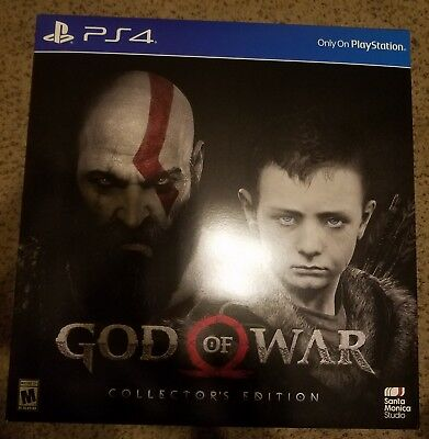 God of War Collector's Edition Sony Playstation PS4 2018 Brand New Sealed!!!