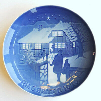 1973 BING & GRONDAHL Christmas Plate, FACTORY FIRST QUALITY Denmark