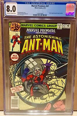 Marvel Premiere #47 1st Scott Lang Ant-Man CGC 8.0 Rare Newsstand Edition CBCS