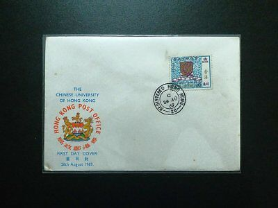 HONG KONG 1969 The Chinese University Official FDC