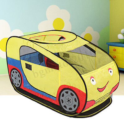 """47"""" Large Kids Car Play Tent Indoor/Outdoor Play Game House Hut Children Toys"""