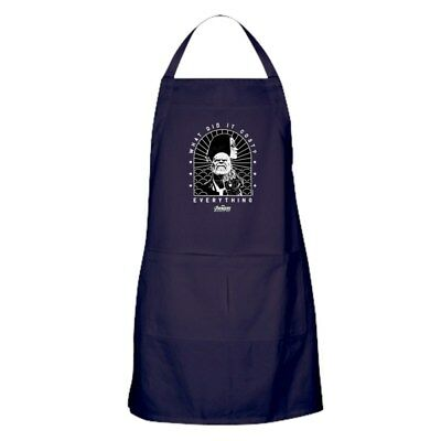 CafePress Avengers Infinity War What Did It Cos Kitchen Apron (274753623)
